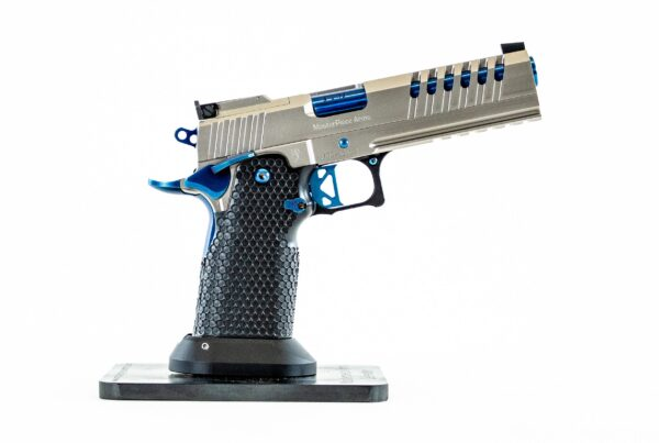 MPA DS9 Hybrid Pistol Stainless & Blue
