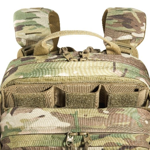Figure 4 TT Modular Gunner Includes 3 detachable MAG pouches to use on the outside for quick release or move to inside the pack for concealment
